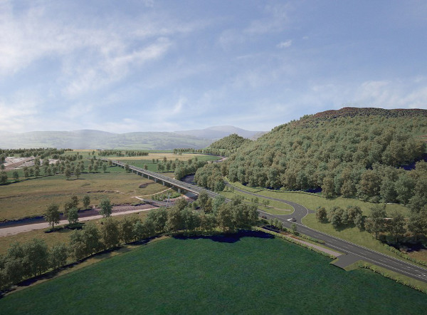 £46m bridge aims to mitigate rising flood risk image