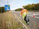 £6m cost to collect litter on motorways image