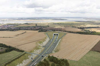 AECOM starts ground investigation work for Lower Thames Crossing image