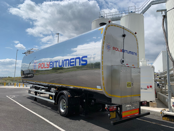 Agile, flexible, road legal: Polybitumens rolls out mobile storage tank image