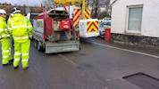 Amey develops new mobile asphalt unit image