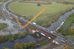 Carrington Bridge is UK first for new high strength steel  image