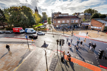 Civilised Highbury Corner junction officially opens image