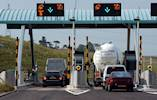 Contactless card payments on M6 Toll Road image