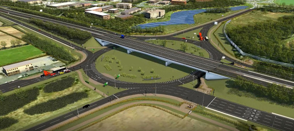 Costain wins £125m A19 works image