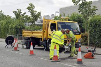 Could the pothole crisis be on the mend? image