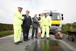 Council fixes 50,000th pothole image