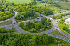 Council funding row as M4 junction works start image