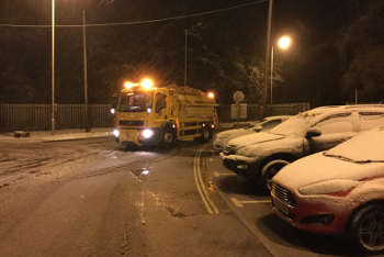 Councils rise to the challenge with 1.4 million tonnes of salt image