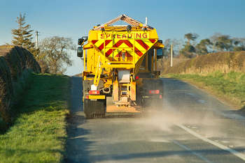 County rethinks gritting routes to keep up with risk-based approach image