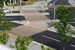 Decorative surfacing used on Swansea waterfront  image