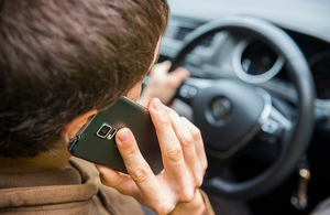 DfT announces further clampdown on phone use while driving image