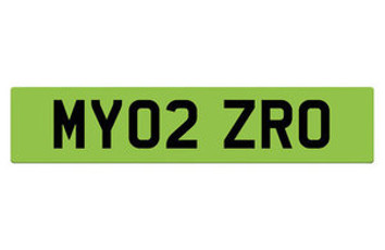 DfT consults on green number plates to improve ULEV take-up image