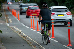 DfT warns councils over £175m active travel cash image