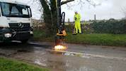 Dragon unleashed on Oxfordshire's potholes image