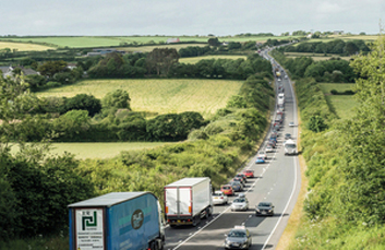 EU chips in as £290m A30 dualling goes forward image