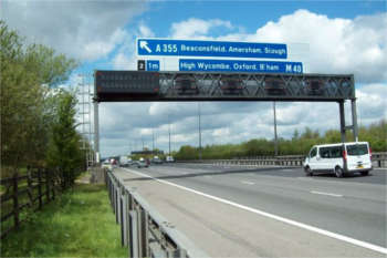 Egis returns to M40 after snapping up Carillion work image