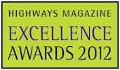 Enter 2012 Highways Magazine Excellence Awards now image