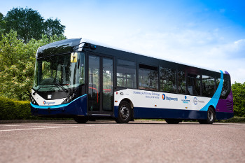 Europe's first full-sized autonomous bus trialled at CAV Scotland image