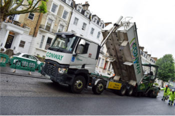 FM Conway hits 80% recycled content in Westminster image