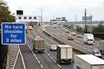 Final section of M25 'smart motorway' completed early image