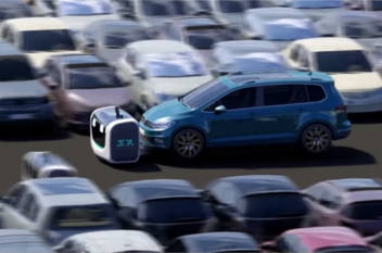 Gatwick plans robot valet parking image