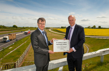 Grayling hits the North to open £400m A1 upgrade image