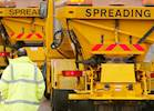 Gritters sent out as roads melt in heat image