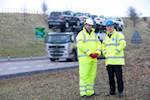 Ground tests start for £3bn A9 dualling  image
