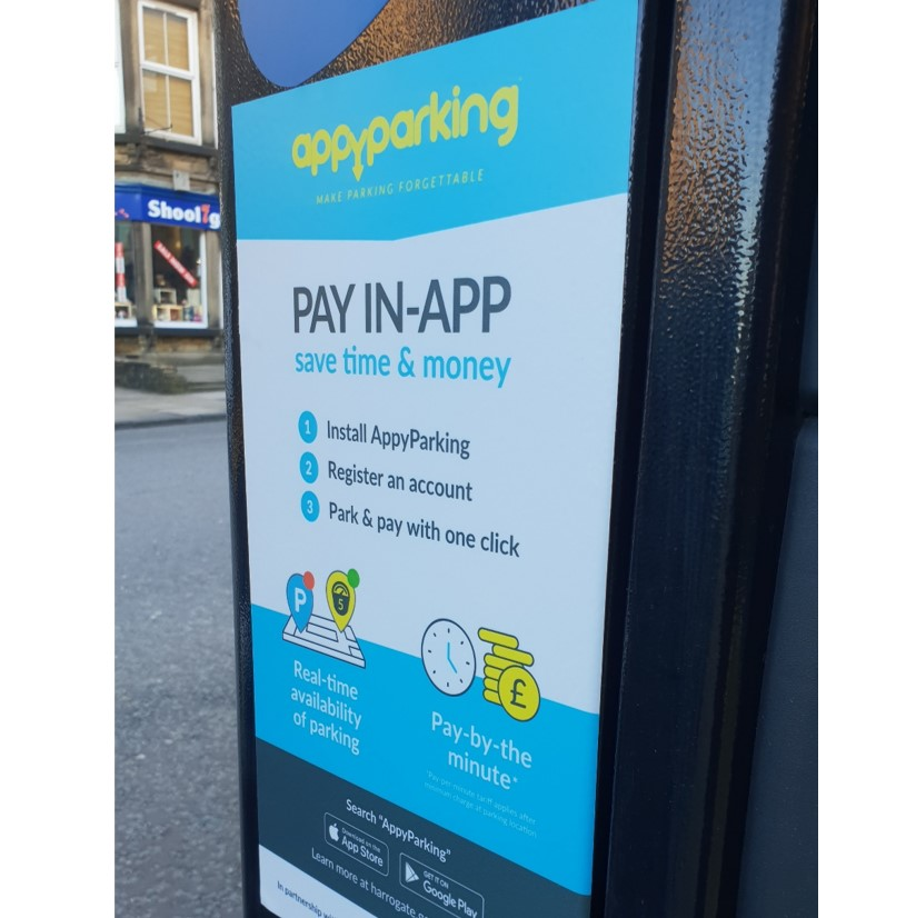 Halifax welcomes new parking paying and finding scheme image