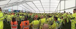 Health and well being of road workers highlighted at HE event image