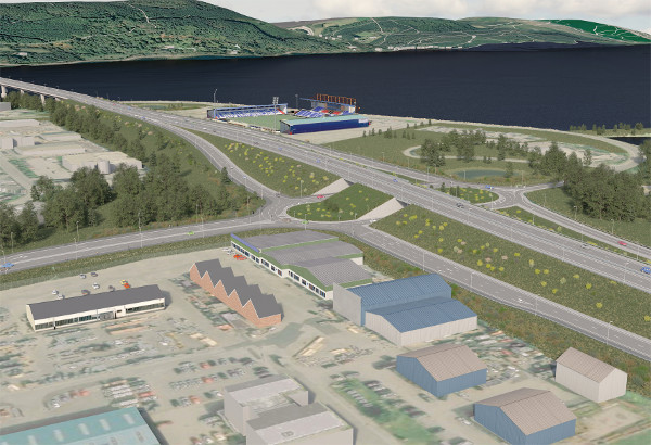Highland capital gets £90m roundabout upgrade image