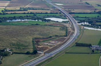 Highways England U-turns on classification as A14 bypass opens early image