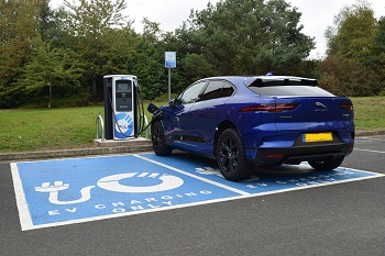 Highways England announces £2.8m electric vehicle deal image