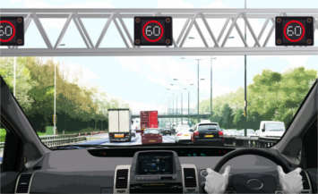 Highways England develops computer design and naked roads image