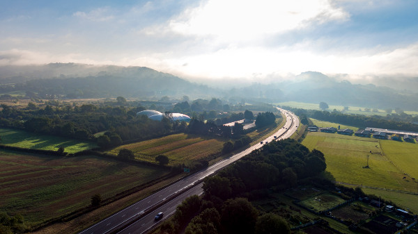 Highways England goes for green with missing link scheme image