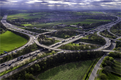 Highways England joins up £3.6m junction bridge works image