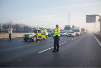 Highways England should take on a policing role, PCC says image