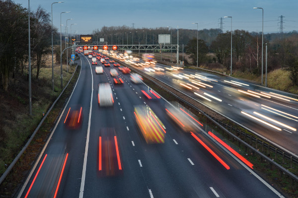 Highways England switches lights back on after casualties rise image