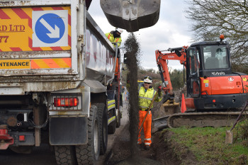 Innovative recycling behind £2.4m safety scheme  image
