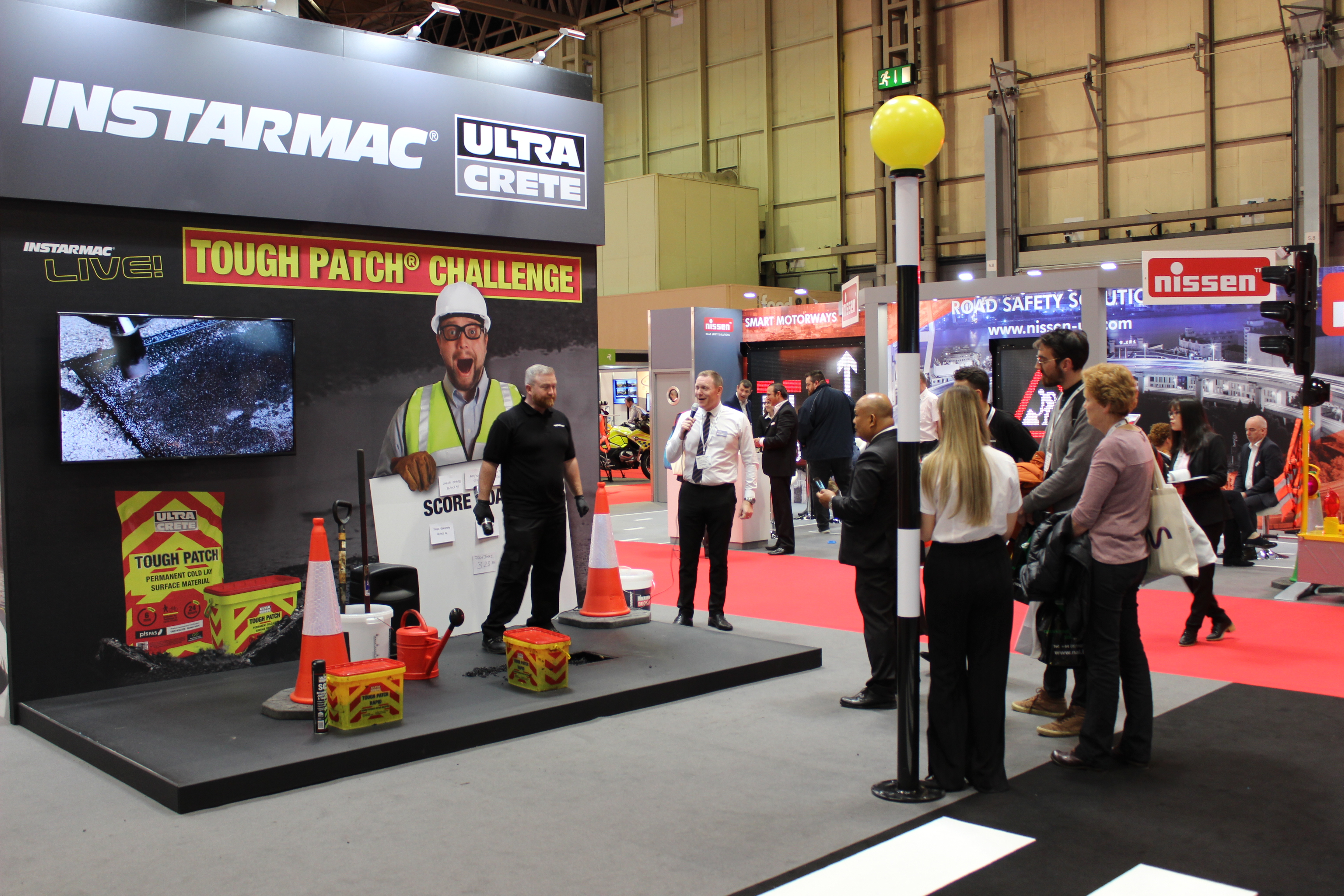 Instarmac impresses with live displays at Traffex image