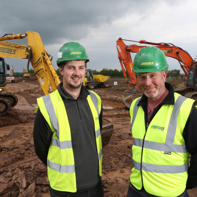 Jones Bros tackles drainage challenge at £100m business park image