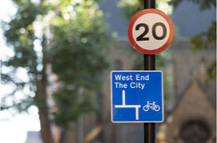 Khan hails 20mph limits as vital step towards zero deaths image