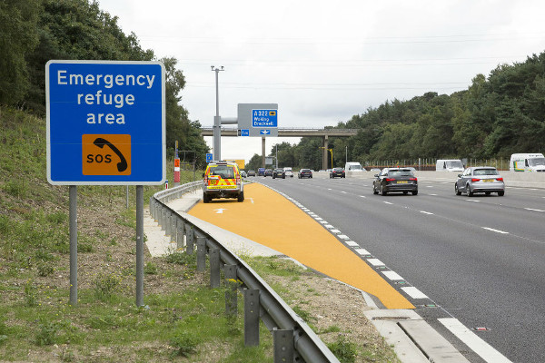King calls smart motorway breakdowns terrifying as safety boost stalls image