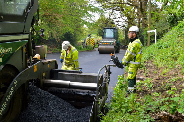Local heroes Conway to blitz Kents potholes in £1.5m deal image