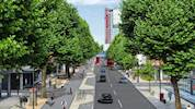 Londons North-South Cycle Highway to Kings Cross approved image
