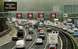 M1 closes for speed camera testing image