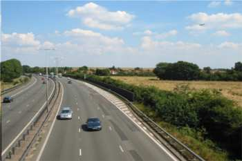 M4 relief road plans dropped image