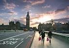 Major pedestrian and cyclist safety work starts at Westminster Bridge image