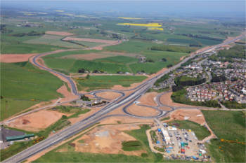 Major section of Aberdeen bypass finally to open image
